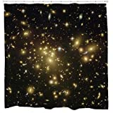 Ferner Galaxien Duschvorhang von Sharp Shirter, Polyester, multi, 180 cm x 188 cm(Standard)