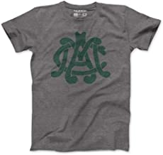 Nudge Printing NCAA Vintage Michigan State University MAC Retro T-Shirt from