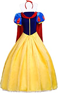 Womens Princess Costume Dress Cloak Headband