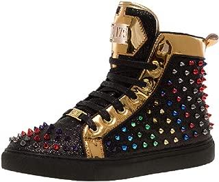 J75 Regal High Top Spiked Sneaker