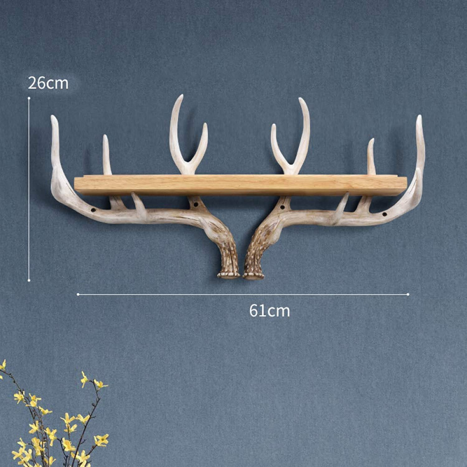 Door Decoration Hook Wall Wall Hanging Rack Bird Nordic Door Wall Hanger Resin Rack,D+61CM