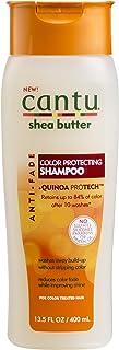 Cantu Shea Butter Anti Fade Color Protecting Shampoo with Quinoa Protein, 13.5 Fluid Ounce