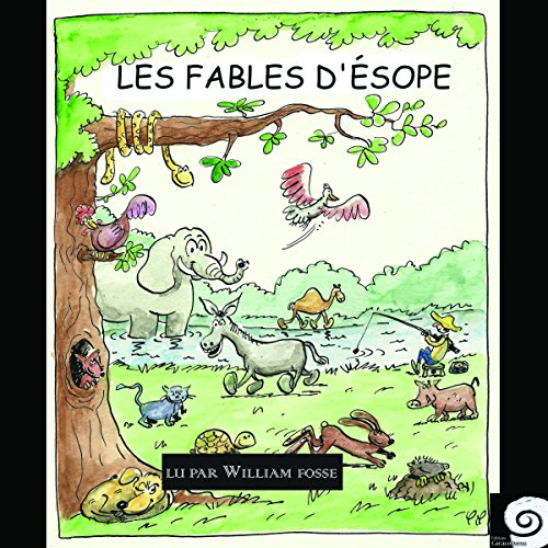 Les fables d'Ésope audiobook cover art