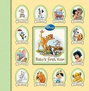 Disney Memory Keeper Album: Baby's First Year 24 Pocketfuls of Memories Book