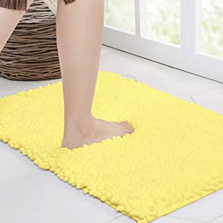 Amazon Com Bath Rugs Yellow Bath Rugs Bath Home Kitchen