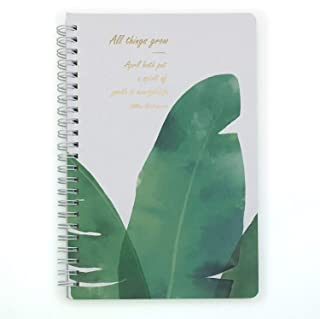 A5 Spiral Notebooks Plants 1, Banana tree