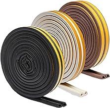 Mintice 10 meter schuim zelfklevende venster deur afdichting strip rubber tape weerstrip geluiddicht indoor strippen anti ...