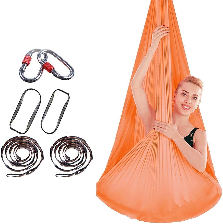 NoNo Stretch Air Yoga Hngematte Indoor Silk Anti-Gravity Yoga Free Mit Schnalle Und Seil Geknotet