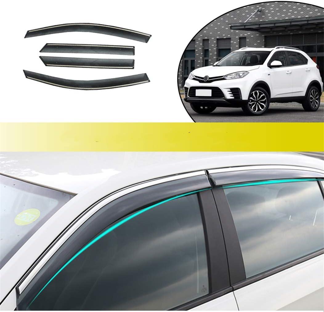 for MG GS 2015-2018 4PCS Smoke Rain Wi 引き出物 Visor Guard 安心の定価販売 Sun Deflector