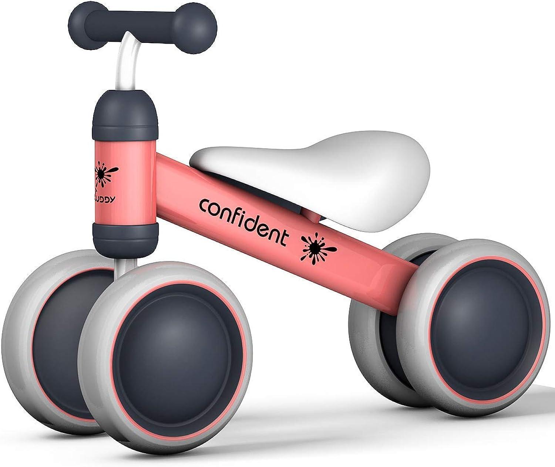 en venta en línea ZBW Bicicleta de Equilibrio para bebé, Mini Mini Mini Bicicleta para Niños, Juguetes para Caminar de 18 a 36 Meses, sin Pedal, para Niños de 4 Ruedas, Bicicleta para Niños pequeños  Con 100% de calidad y servicio de% 100.