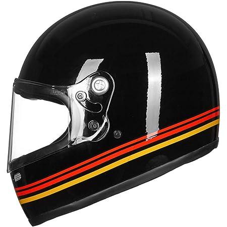 Held Root Motorradhelm Dekor Schwarz Weiß Rot M 57 58 Auto