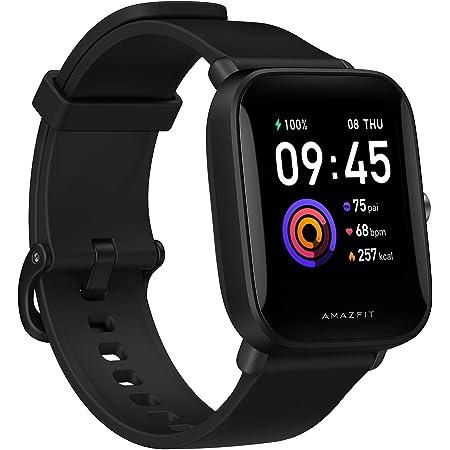 """Amazfit Bip U Smartwatch Orologio Intelligente Fitness Schermo AMOLED da 1,43"""" Impermeabile 5 ATM , 60 Modalità di Allenamento, Contapassi, Monitor del Sonno per Sport, Uomo, Donna (Nero)"""