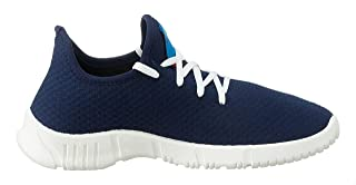 Salerno Textile Round-Toe Lace-up Sneakers for Men