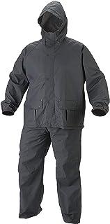 Motoway Bike/Scooter Water Proof Rain Suit with Hood-Black