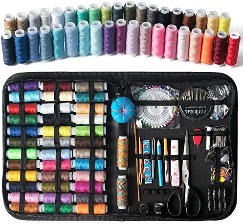 Sewing Machine Kit AKARUED Sewing Kit 183 Premium Sewing Machine Starter Kit for Beginners Men product image