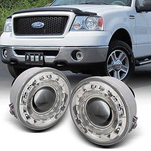 For 05-08 Ford F150 F-150 Pickup Truck LED Halo Projector Fog Light W/Switch +...