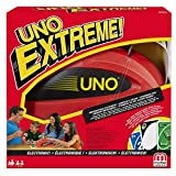 Mattel Games Uno Extreme Card Game with Electronic Launcher