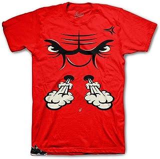 a9214d44dc7f1d Amazon.com  jordan retro 4 - S   T-Shirts   Shirts  Clothing