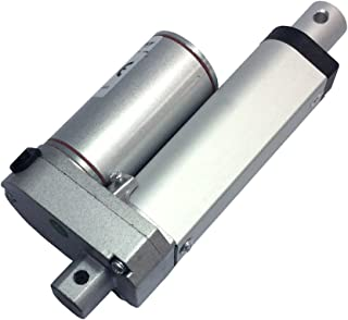 BEMONOC Stroke 50mm 2 Inch 12 Volt Mini Linear Actuator Motor 100N High Speed 50mm/s
