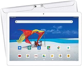 10.1 インチタブレット Android 5.1 2GB+16GB デュアルSIM Wi-Fi GPS Bluetooth搭載(白)