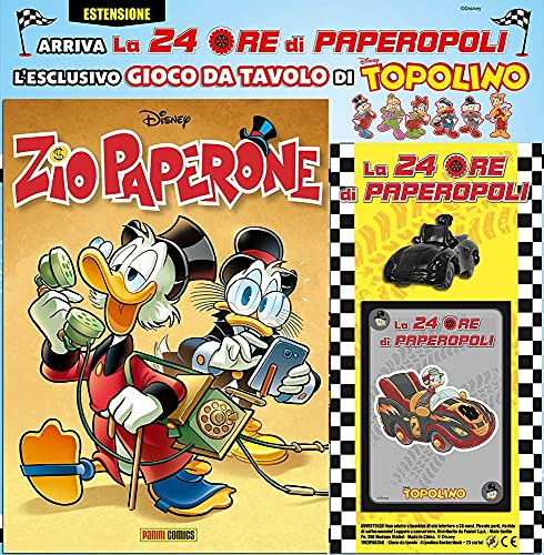 Fumetto Zio Paperone N° 35 - Variant + Auto Rockerduck e 23 Carte - Disney Panini Comics – Italiano