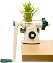 The Original Healthy Juicer (Lexen GP27) - Manual Juicer - Celery, Wheatgrass, Kale, Spinach, Parsley and any other Leafy Green! Featuring a masticating live-enzyme cold press process!