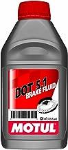 Motul DOT 5.1 High Temp. Brake Fluid 500ml (Pack of 4)