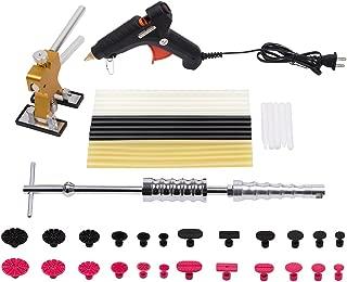Mookis, set de reparación de abolladuras en carrocería de 4 piezas, con martillo deslizante, separador, pistola de cola, barra de cola