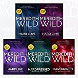 Meredith Wild Hacker Series 5 Books (1-5) Set Collection (Hardwired, Hardpressed, Hardline, Hard Limit, Hard Love)