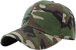 Unisex Hip-hop Sports Trucker Hat Camouflage Adjustable Baseball Cap