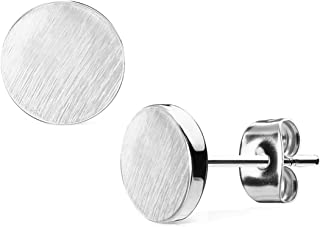 Best silver circle studs Reviews