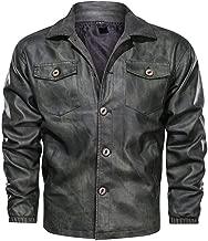 Vectry Manteau Homme Hiver Blouson Pardessus Mode Hommes Nouvelle Mode Denim Gilet Casual Cowboy Veste /À L/épaule Blouse Casual Affaires Veste