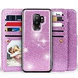Galaxy S9 Plus Wallet Case, Miss Arts Detachable Magnetic Slim...