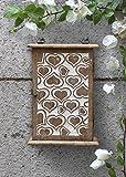 Store Indya, caja del titular de llave de madera del gabinete montado en la pared 6...