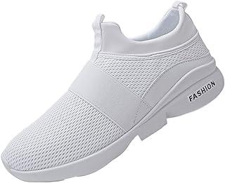 Uomo Donna Scarpe da Ginnastica Sportive Sneakers Running Basse Basket Sport Outdoor Fitness Respirabile Mesh Running Snea...