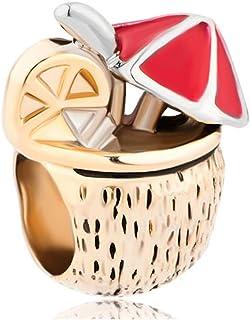 SUG Jasmin Lait de coco Charm Holiday beach Perles pour bracelet
