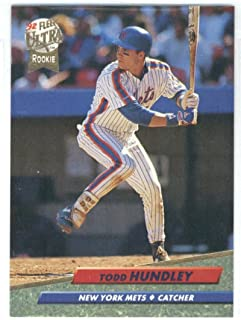 1992 Ultra #233 Todd Hundley ROOKIE CARD Mets