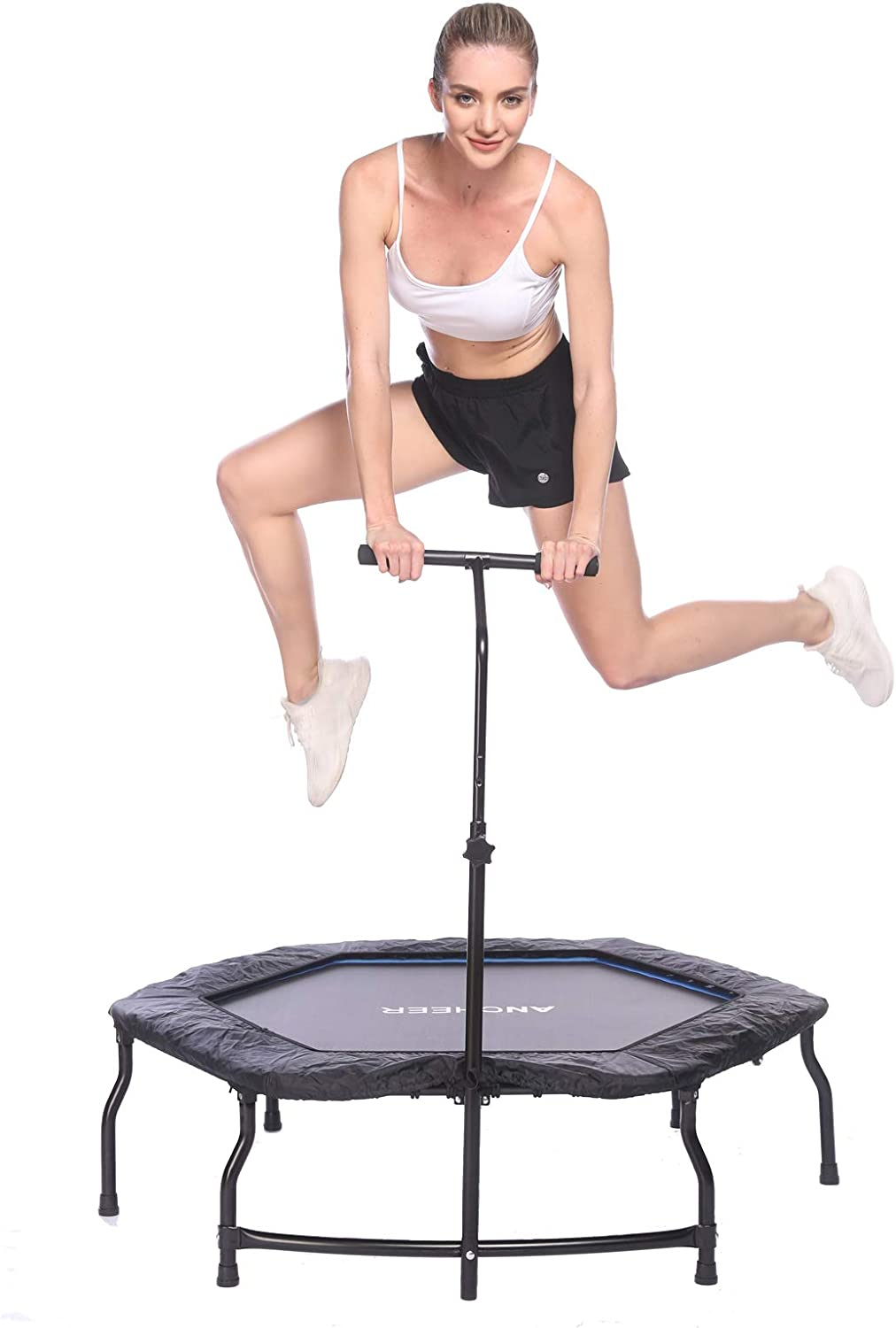 ANCHEER Mini Trampoline Quiet Nippon regular agency Rebo Safe Foldable Very popular and