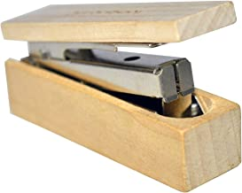 Funk Frontier Small Wooden Stapler for Office or Home Use - Pack of 2