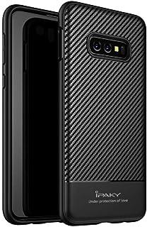 حافظة من السيليكون الناعم لهاتف سامسونج جالاكسي S10e iPaky - باللون الأسود.