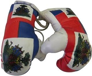 Haiti Mini Small Boxing Gloves - 1 Piece