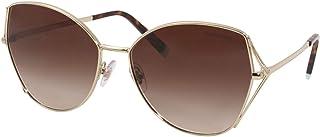 Tiffany - TF3072 Pale Gold Butterfly Women Sunglasses - 59mm