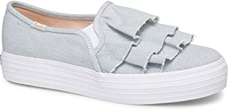 Keds Triple Ruffle Denim Women's