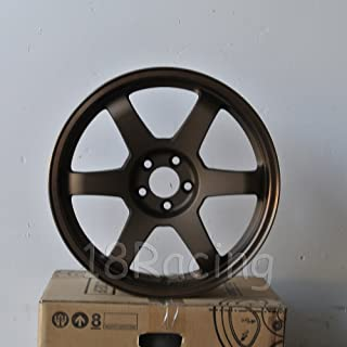 4 PCS ROTA GRID 18x8.5 PCD: 5X108 OFFSET:42 HB:73 SPEED BRONZE