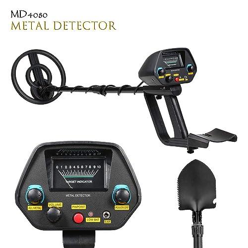 TOPQSC MD-4080 Detector de Metales,Alta sensibilidad, Todos los Modos de Metal