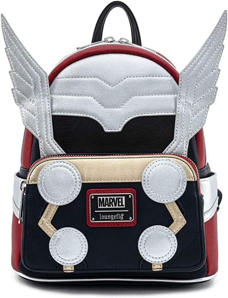 Loungefly Marvel Thor Classic Cosplay Womens Double Strap Shoulder Bag Purse