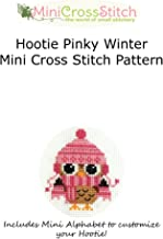 Hootie Pinky Winter Mini Cross Stitch Pattern