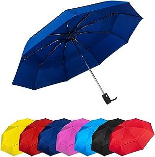 e8094bf693 Paraguas Plegables Automático Antiviento. Paraguas Originales de Colores Mujer  Hombre Ligero Resistente y Compacto.