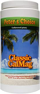 Sponsored Ad - Peter's Choice Classic Calmag, Original 2:1 Formula. Anti Stress/Sleep Support Drink. High Absorption. Supp...
