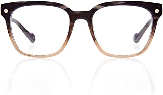 Kingsley Rowe Harper:Unisex, square-round, Classic, Retro, Nerd, Optical Glasses Frames For Men and Women